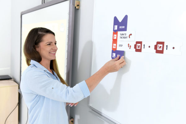 Teacher uses Scottie Go! Magnetic Tiles